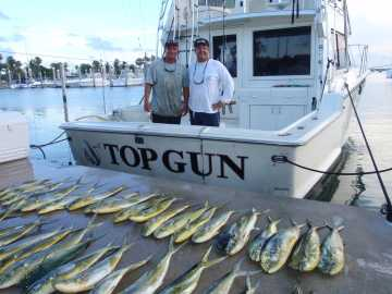 Miami fishing charters top gun sportfishing of miami fl for Miami fishing charters