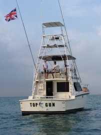 Top Gun with Brittish Flag